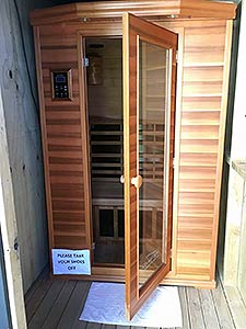 Infrared Sauna – FREE to all gym members